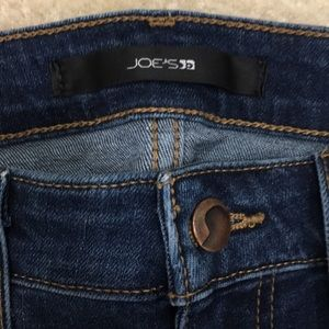 Joes skinny ankle zip detail denim